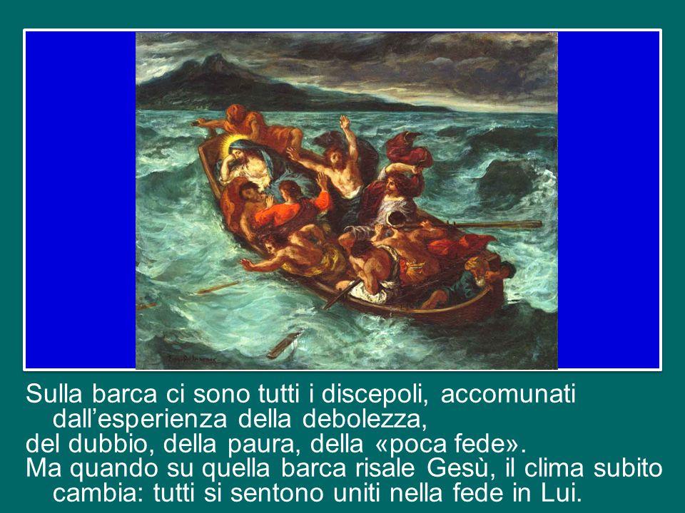 sempre fragile e povera, inquieta e tuttavia vittoriosa, la fede del cristiano cammina incontro al Signore risorto, in mezzo alle tempeste e ai perico