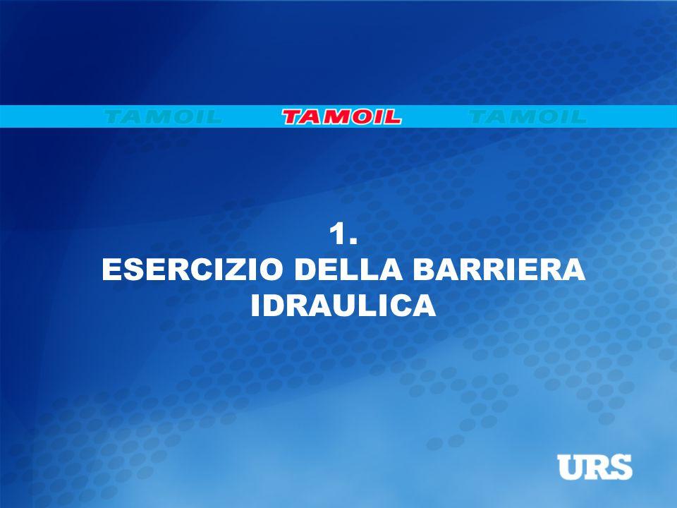 1. ESERCIZIO DELLA BARRIERA IDRAULICA