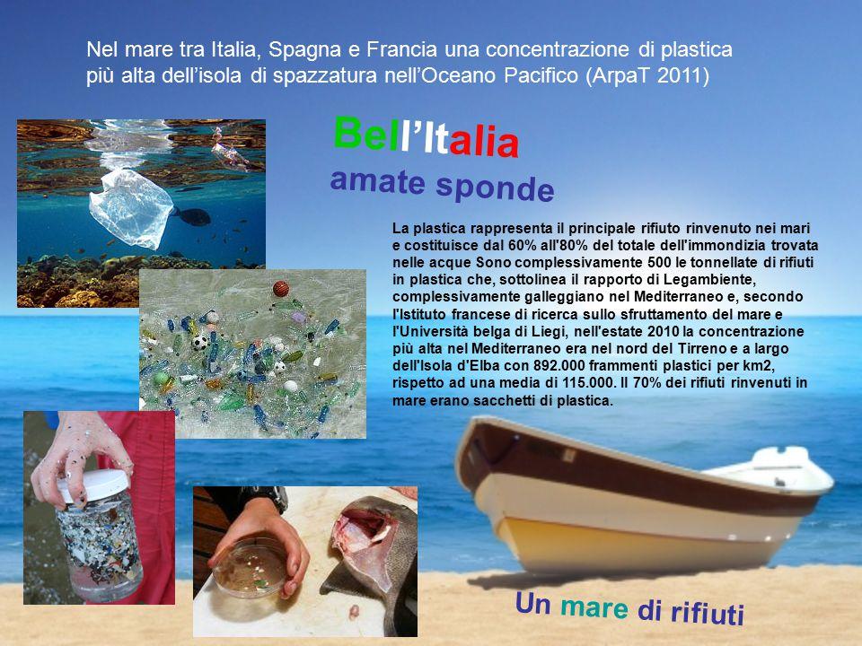 Un mare di rifiuti le isole di rifiuti