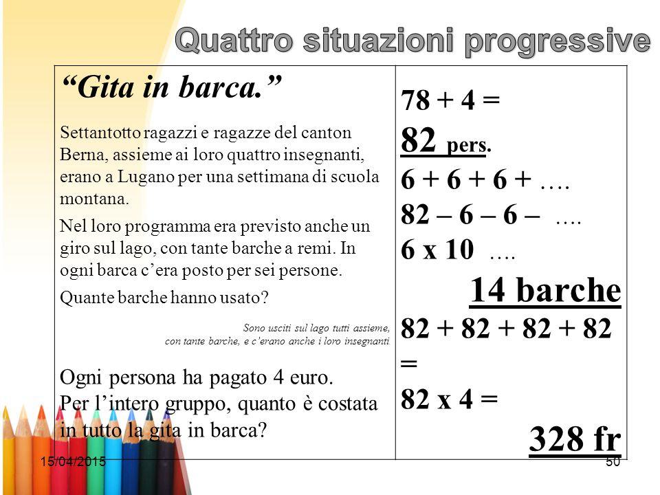 """15/04/201550 """"Gita in barca."""" Settantotto ragazzi e ragazze del canton Berna, assieme ai loro quattro insegnanti, erano a Lugano per una settimana di"""