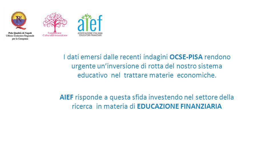 I dati emersi dalle recenti indagini OCSE-PISA rendono urgente un'inversione di rotta del nostro sistema educativo nel trattare materie economiche.