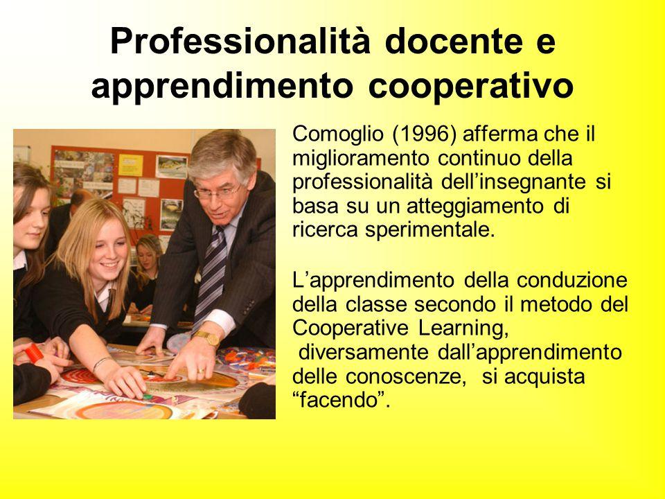 Comoglio (1996) afferma che il miglioramento continuo della professionalità dell'insegnante si basa su un atteggiamento di ricerca sperimentale. L'app