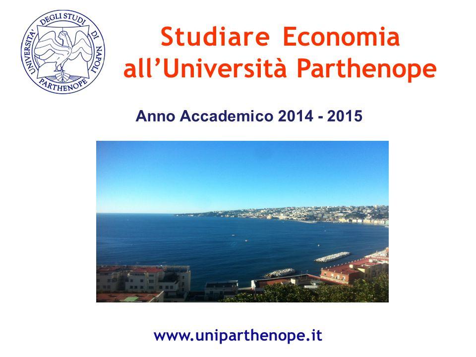 Dipartimento di Studi Aziendali e Quantitativi 12 www.disaq.uniparthenope.it www.management.uniparthenope.it Direttore Prof.