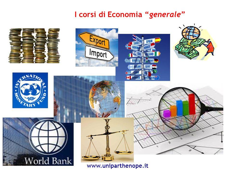 I corsi di Economia Aziendale e Management www.uniparthenope.it 8 Best Global Company (2013)Imprese Campane Start up Innovative