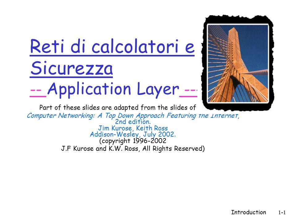 Introduction1-142 Discussione  Singolo punto di fallimento  Performance limitata  Copyright ….