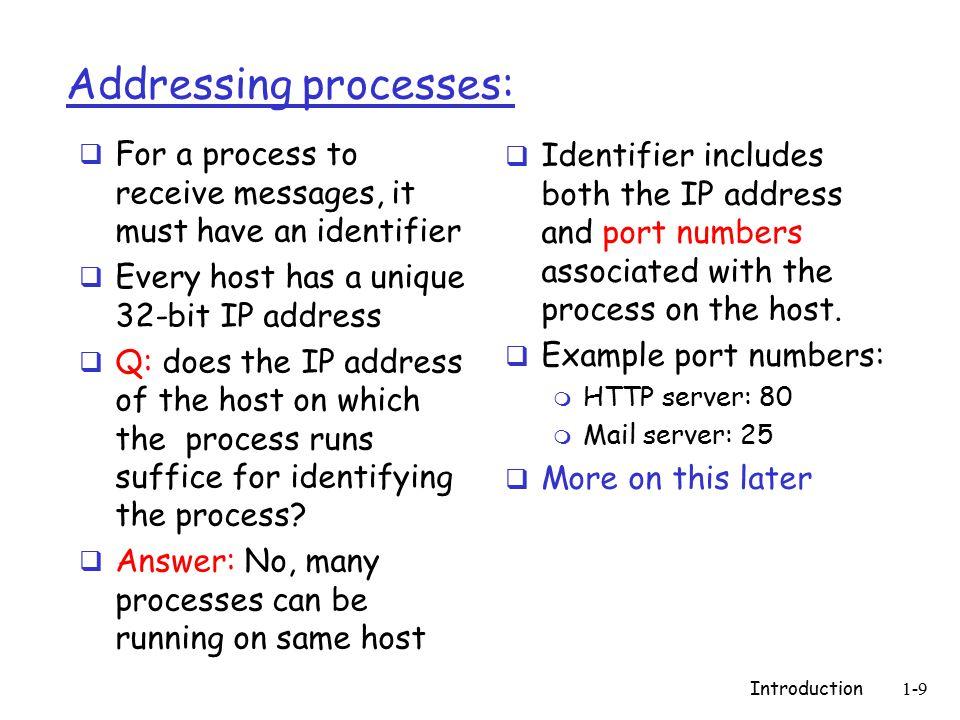 Introduction1-10 Quali sono I requisiti di servizio delle applicazioni di rete Data loss  Alcune app.