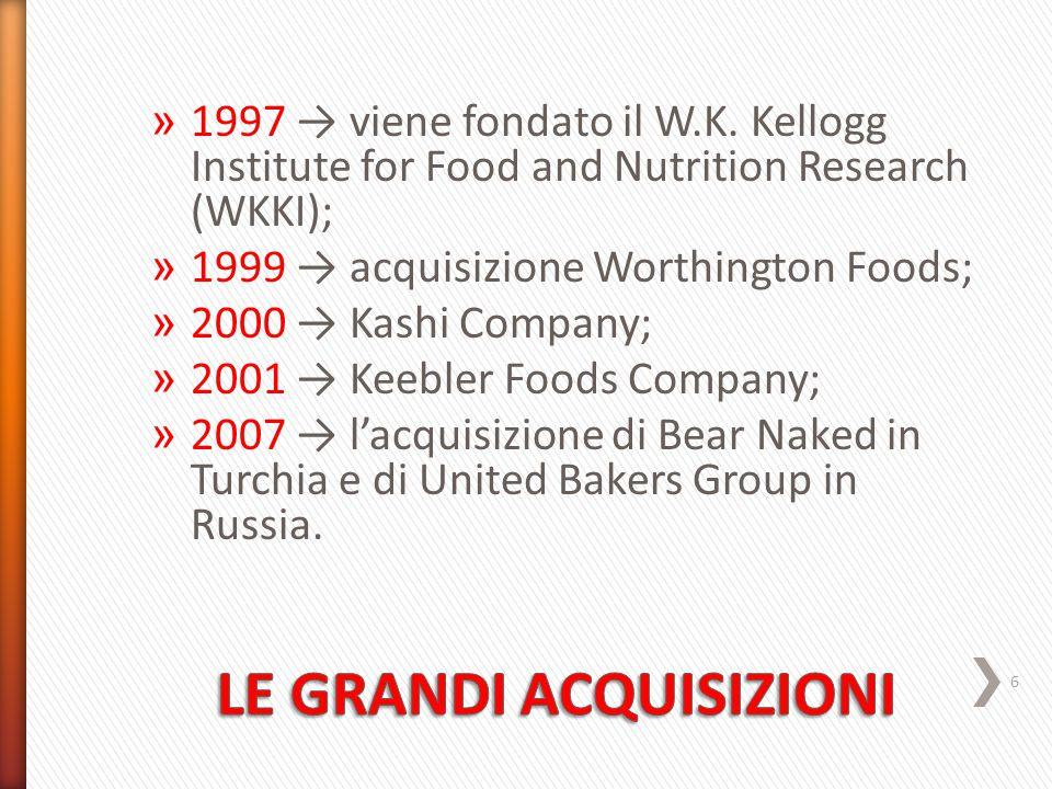 » 1997 → viene fondato il W.K.