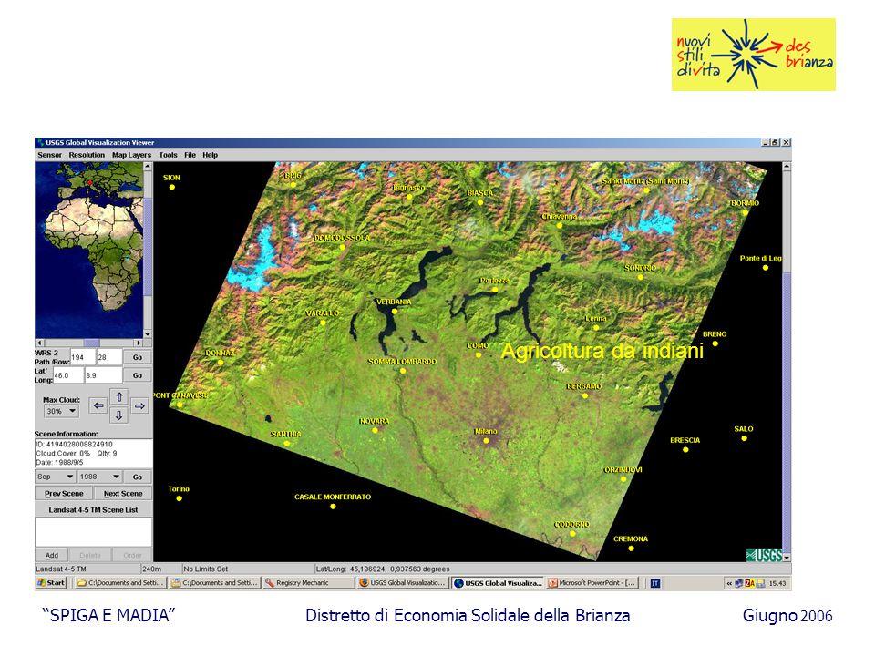 Agricoltura da indiani SPIGA E MADIA Distretto di Economia Solidale della BrianzaGiugno 2006