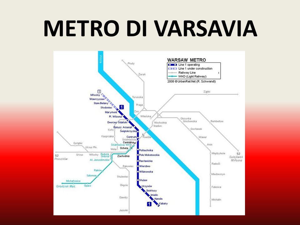 LA CITTA' INFORMAZIONI GENERALI Varsavia, capitale della Polonia, è la città più importante dell'intero Paese.