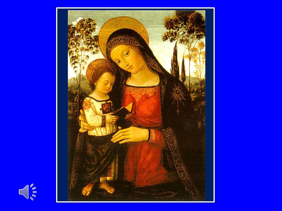 Ci affidiamo alla Vergine Maria, mentre invochiamo su di noi e sui nostri cari la sua materna intercessione.
