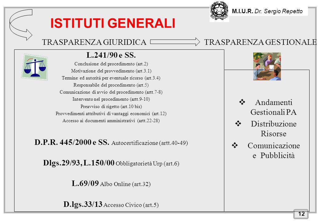 INPS – Direzione Provinciale di Cagliari TRASPARENZA GIURIDICA L.241/90 e SS. Conclusione del procedimento (art.2) Motivazione del provvedimento (art.