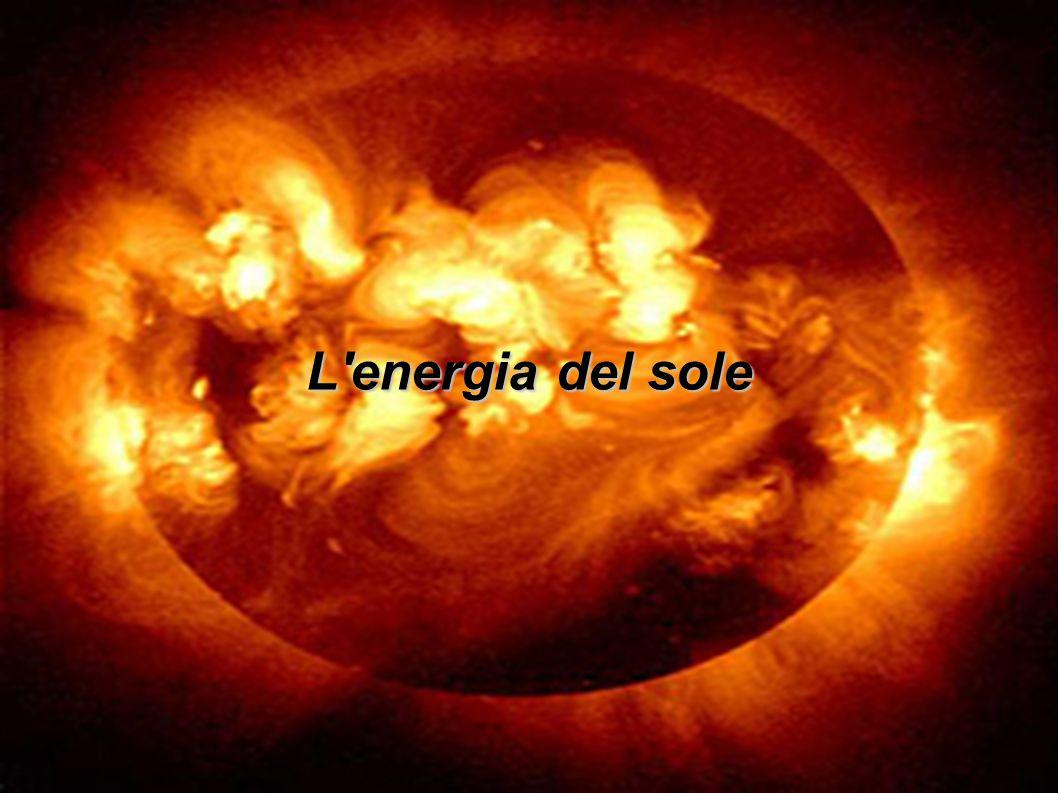 La terra riceve costantemente dal sole dell energia