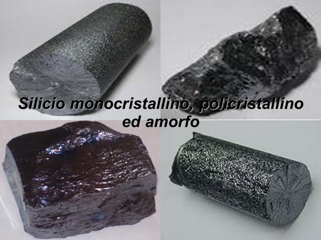 Tuttavia queste tipologie di silicio sono differenti fra loro: