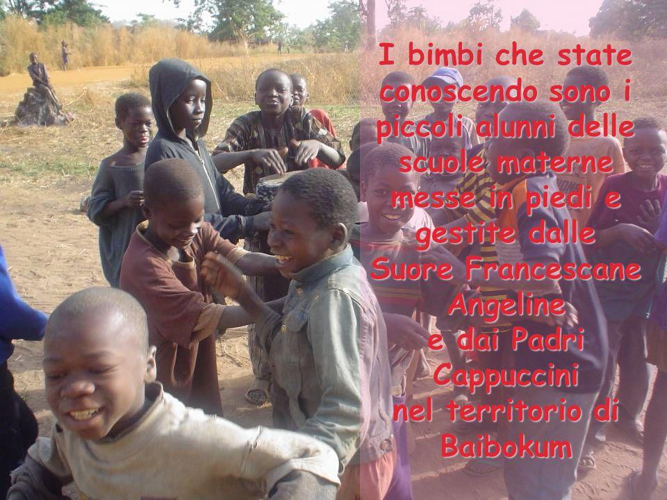 I bimbi che state conoscendo sono i piccoli alunni delle scuole materne messe in piedi e gestite dalle Suore Francescane Angeline e dai Padri Cappucci