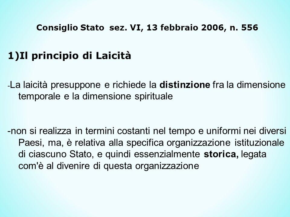 Consiglio Stato sez.VI, 13 febbraio 2006, n.