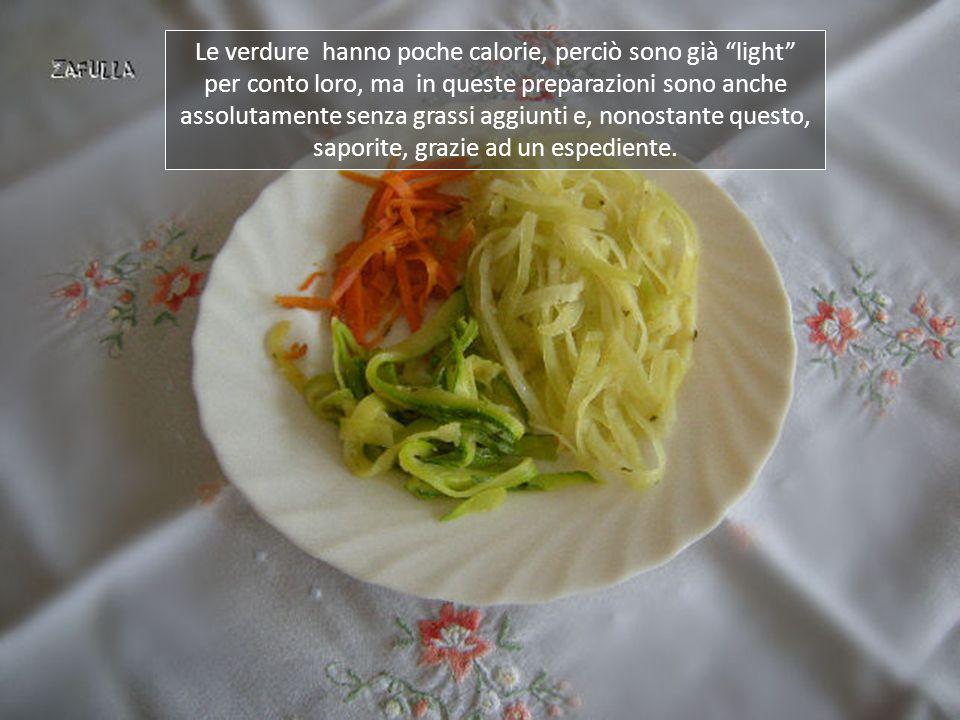 In effetti riempie il piatto: in ogni dieta anche l'occhio vuole la sua parte !
