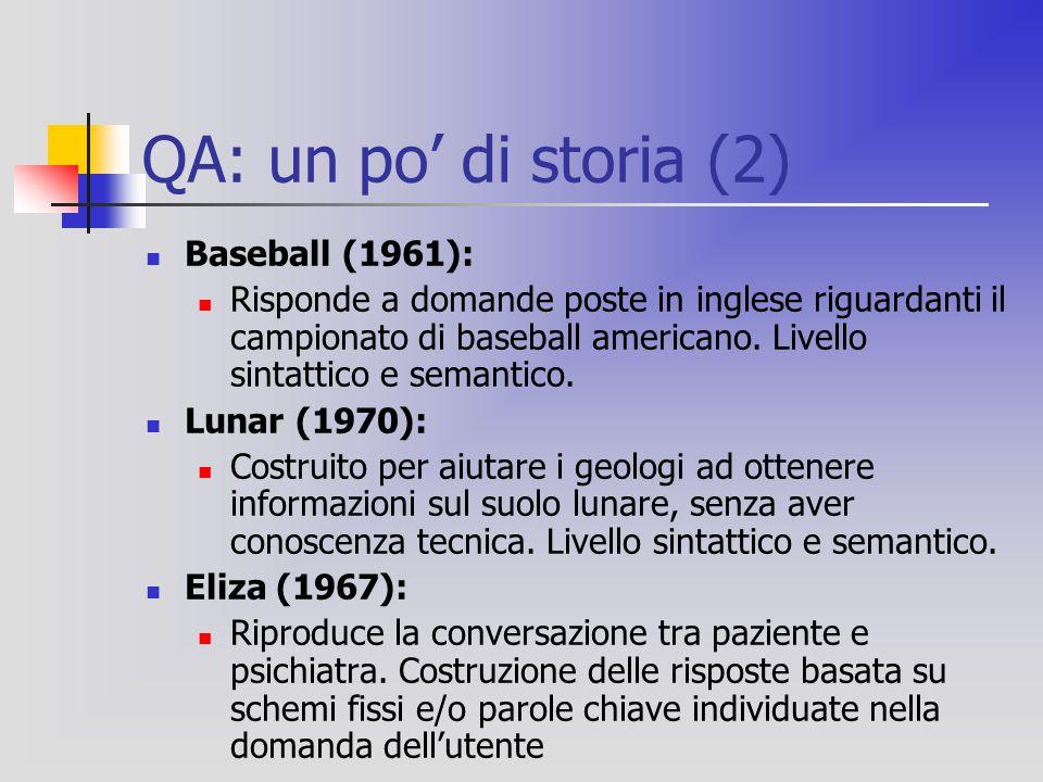 QA: un po' di storia (2) Baseball (1961): Risponde a domande poste in inglese riguardanti il campionato di baseball americano.