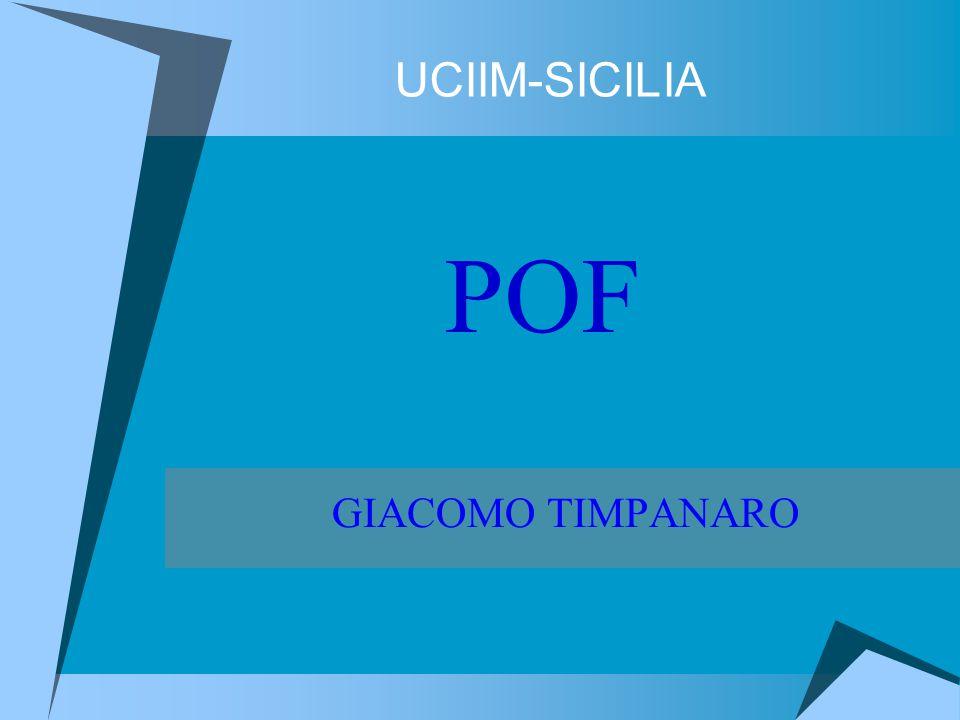 UCIIM-SICILIA GIACOMO TIMPANARO POF
