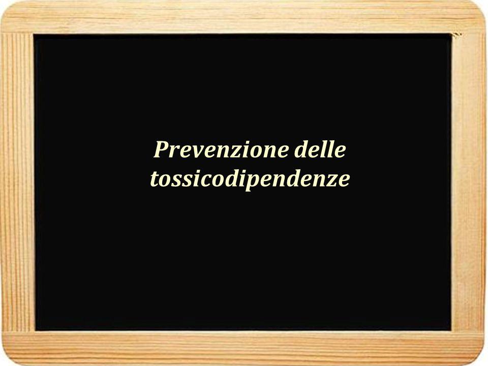 Prevenzione delle tossicodipendenze