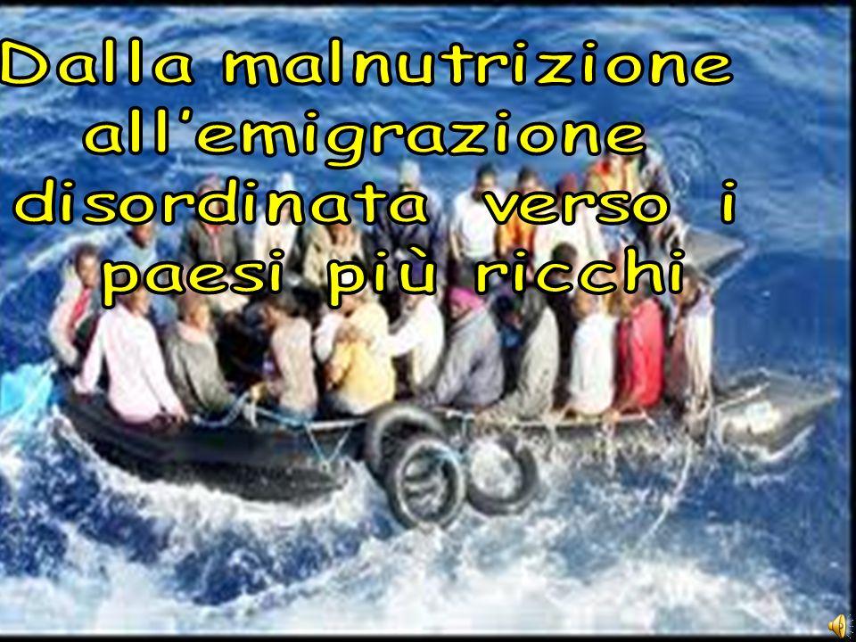 Questo è un problema che va assolutamente risolto sia per motivi umanitari ma anche per evitare una disordinata emigrazione verso i paesi più ricchi con conseguenze gravi.