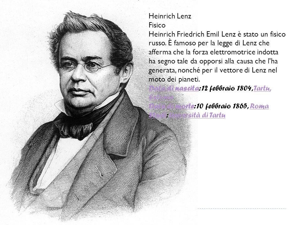 Joseph Henry Fisico Joseph Henry è stato un fisico statunitense.