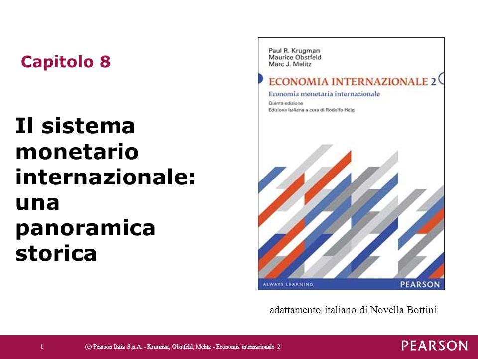 (c) Pearson Italia S.p.A. - Krurman, Obstfeld, Melitz - Economia internazionale 21 Capitolo 8 Il sistema monetario internazionale: una panoramica stor