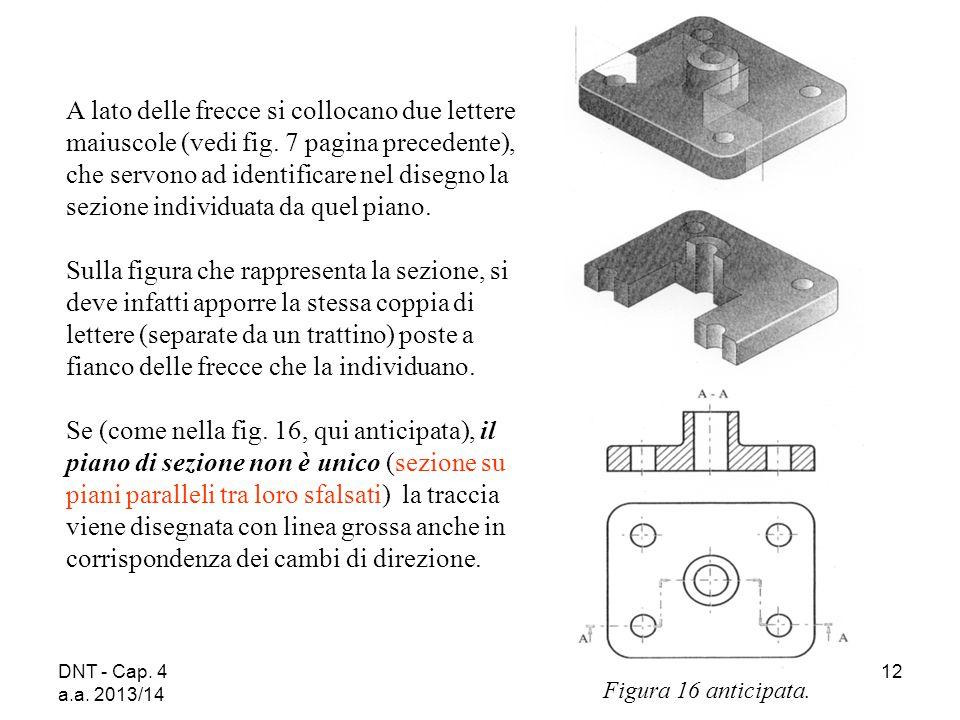 DNT - Cap. 4 a.a. 2013/14 12 A lato delle frecce si collocano due lettere maiuscole (vedi fig. 7 pagina precedente), che servono ad identificare nel d
