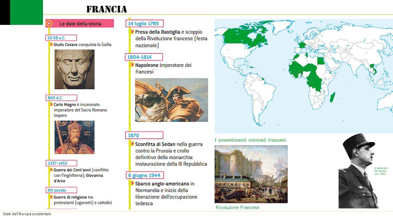 Stati dell'Europa occidentale Francia La Francia è una repubblica semipresidenziale.
