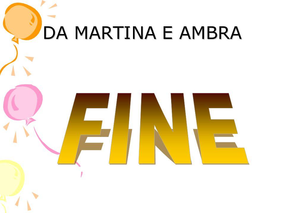 DA MARTINA E AMBRA