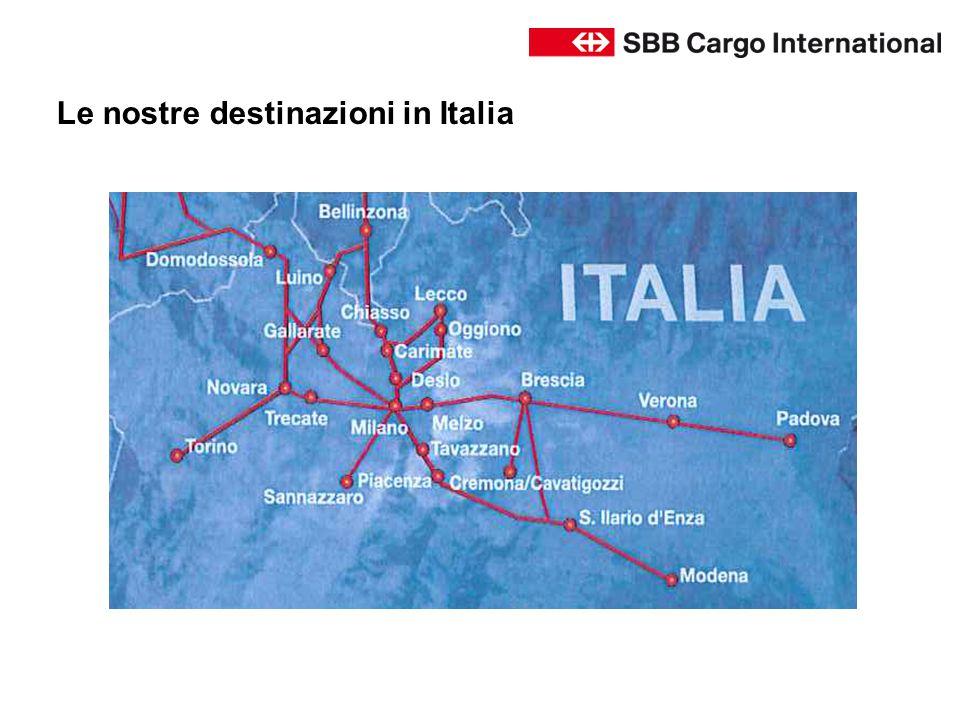 Le nostre destinazioni in Italia
