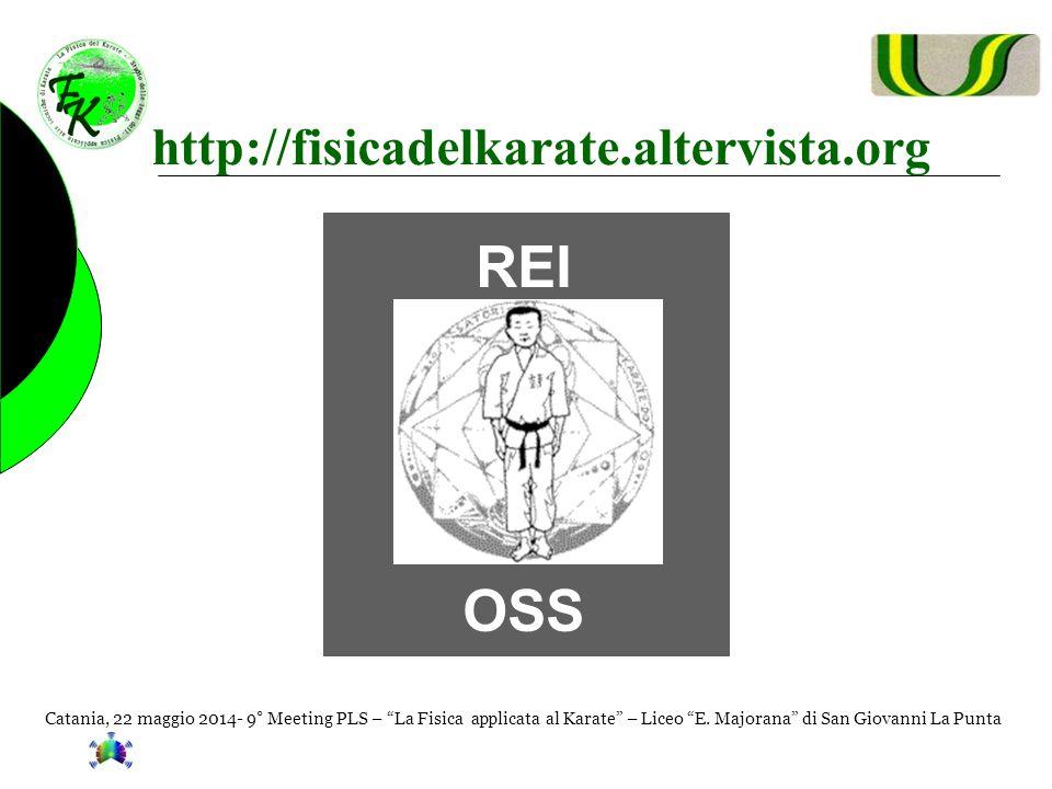 """Catania, 22 maggio 2014- 9° Meeting PLS – """"La Fisica applicata al Karate"""" – Liceo """"E. Majorana"""" di San Giovanni La Punta http://fisicadelkarate.alterv"""