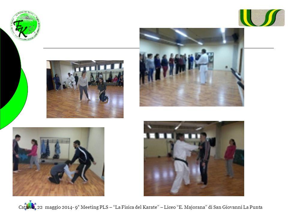 """Catania, 22 maggio 2014- 9° Meeting PLS – """"La Fisica del Karate"""" – Liceo """"E. Majorana"""" di San Giovanni La Punta"""