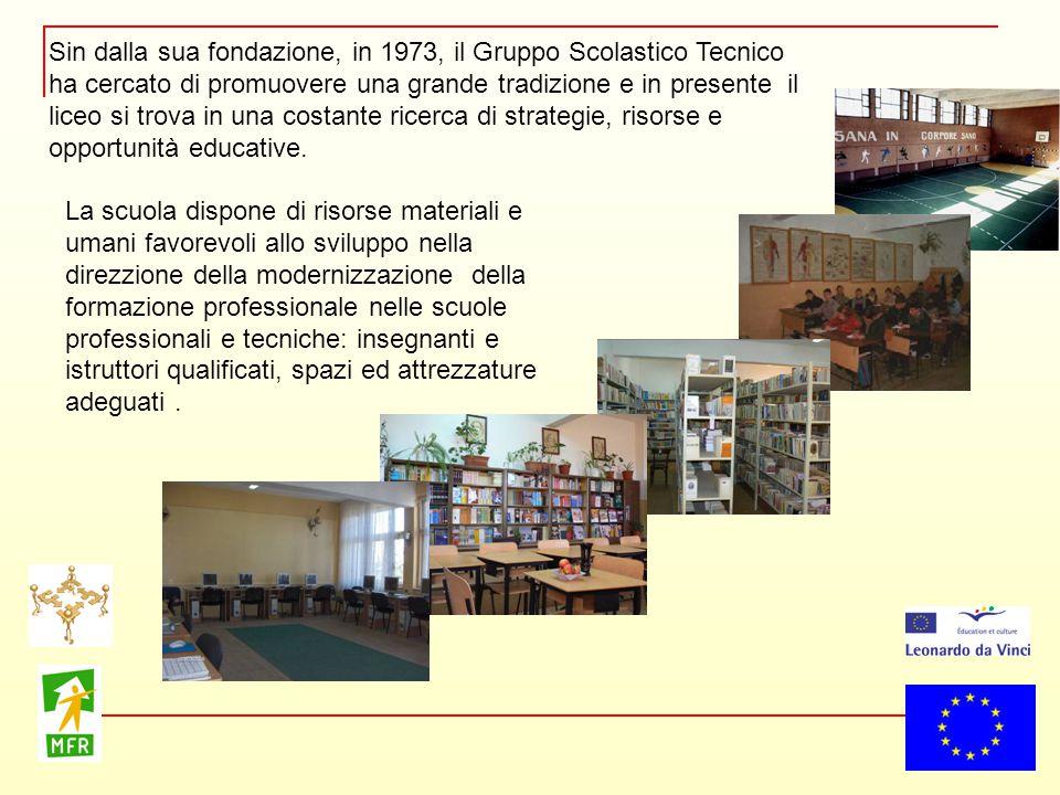 Sin dalla sua fondazione, in 1973, il Gruppo Scolastico Tecnico ha cercato di promuovere una grande tradizione e in presente il liceo si trova in una