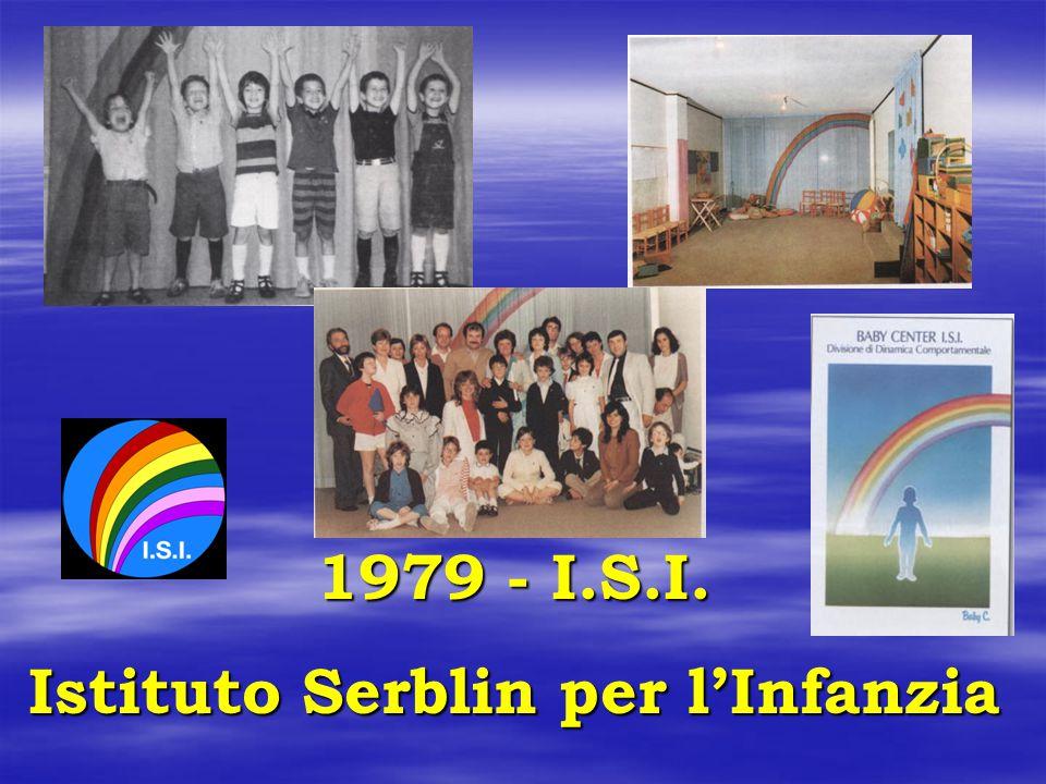 1979 - I.S.I. Istituto Serblin per l'Infanzia