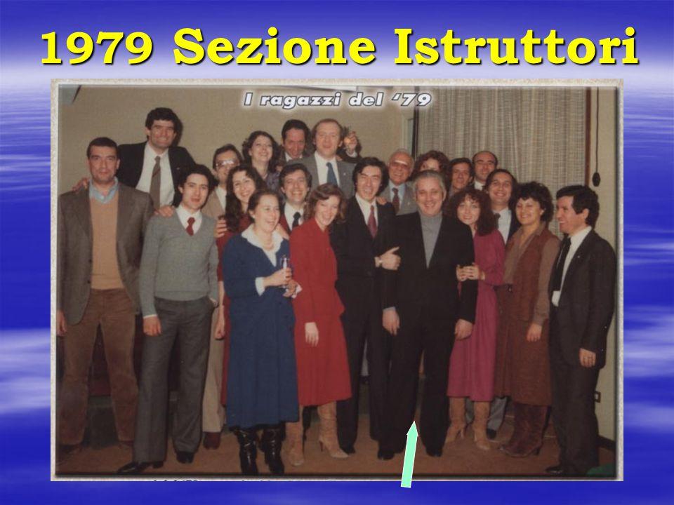 1979 1979 Sezione Istruttori