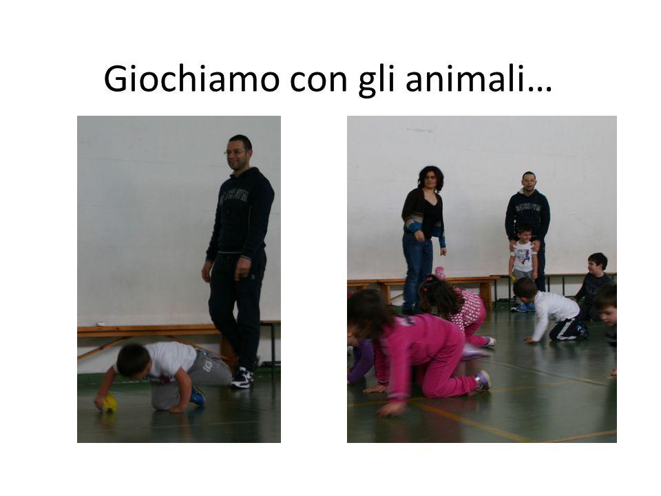 Giochiamo con gli animali…