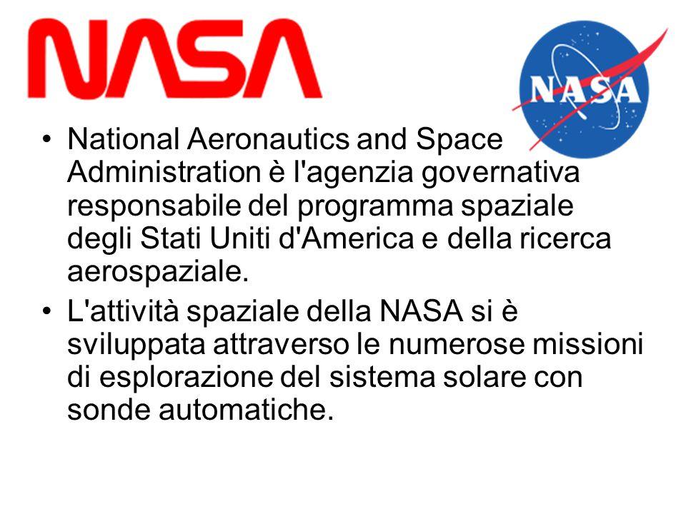 National Aeronautics and Space Administration è l'agenzia governativa responsabile del programma spaziale degli Stati Uniti d'America e della ricerca