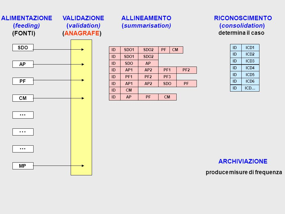 INTEGRATED EPIDEMIOLOGICAL SYSTEM IES