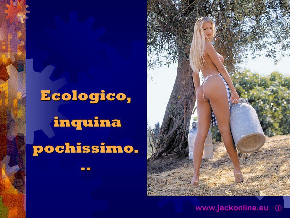 www.jackonline.eu  www.jackonline.eu  Ecologico, inquina inquina pochissimo...