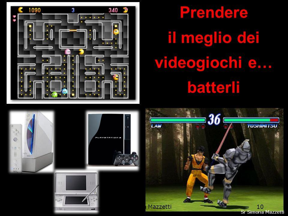 Prendere il meglio dei videogiochi e… batterli 10Sr Simona Mazzetti