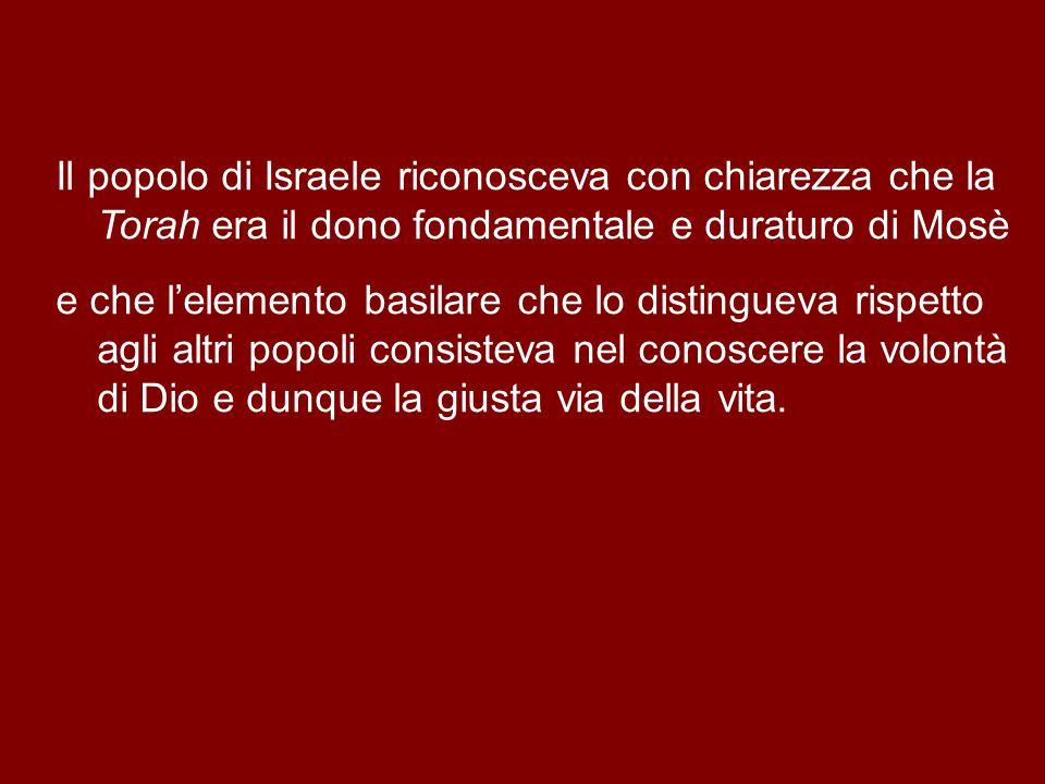Nel pensiero ebraico era chiaro che il vero pane del cielo, che nutriva Israele, era la Legge, la parola di Dio.