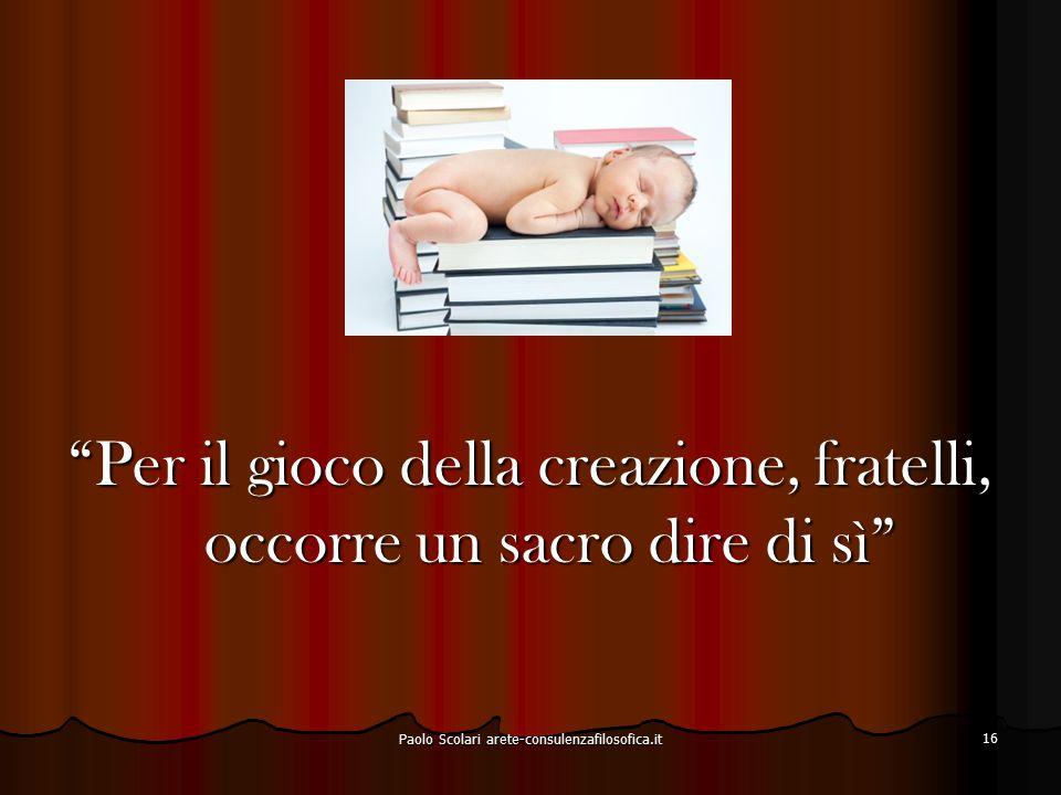Innocenza (Unschuld) Incolpevolezza Oblio (Vergessen) Dimenticanza Paolo Scolari arete-consulenzafilosofica.it 17