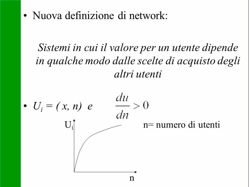 Copyright SDA Bocconi 2005 Competing Technologies, Network Externalities …n 25 Nuova definizione di network: Sistemi in cui il valore per un utente di