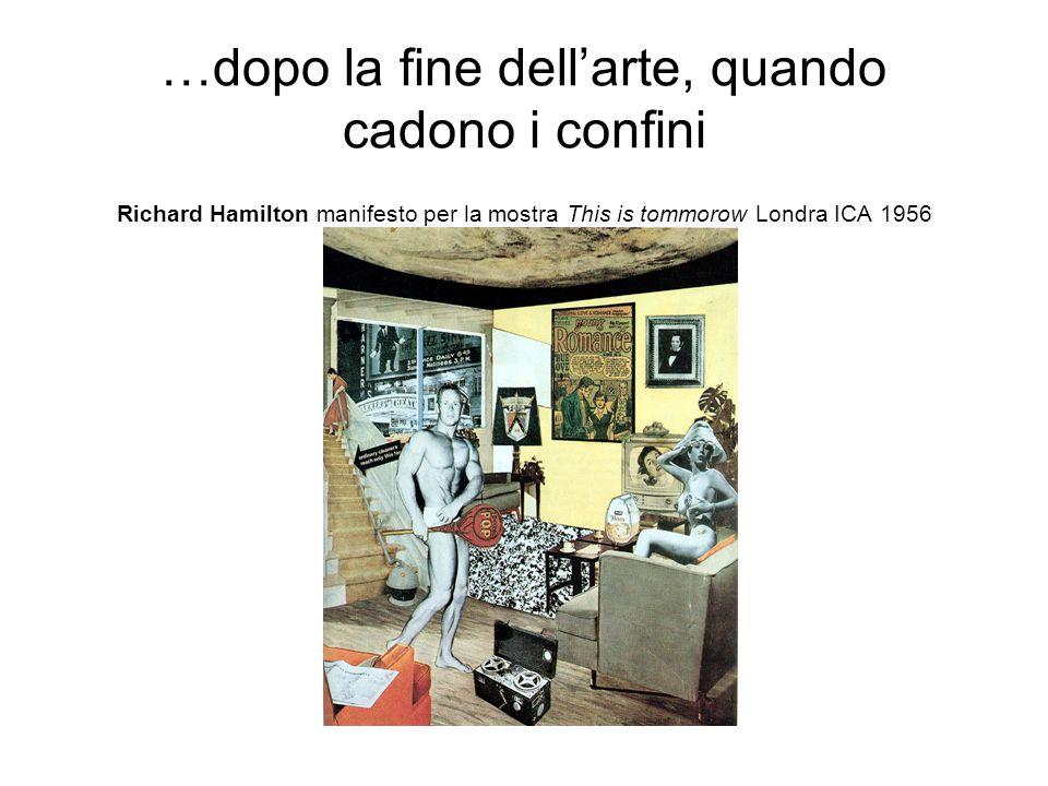 … ma ancora dentro le forme moderne… Roy Lichtenstein