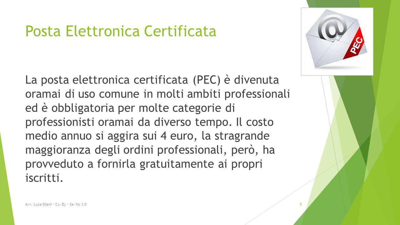 Posta Elettronica Certificata La posta elettronica certificata (PEC) è divenuta oramai di uso comune in molti ambiti professionali ed è obbligatoria per molte categorie di professionisti oramai da diverso tempo.