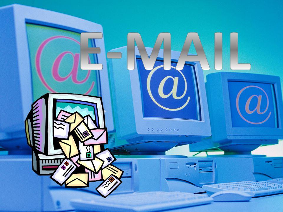 E-MAIL La posta elettronica o email è un servizio Internet grazie al quale ogni utente può inviare o ricevere dei messaggi.