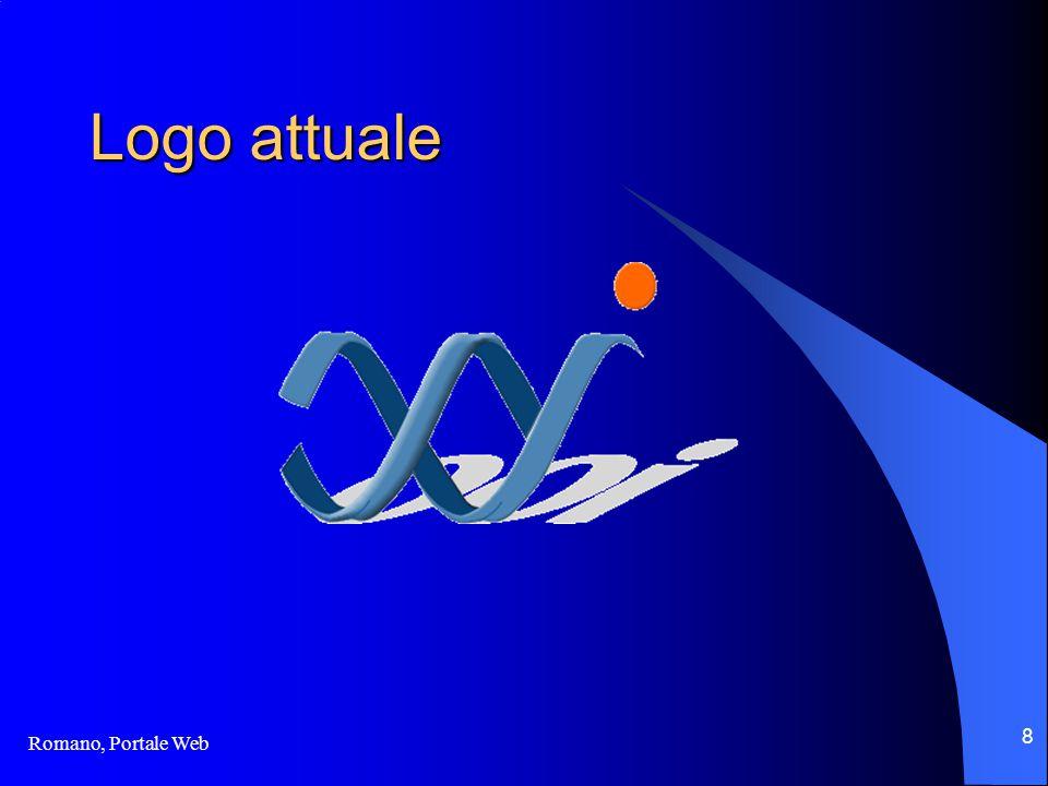 Romano, Portale Web 8 Logo attuale