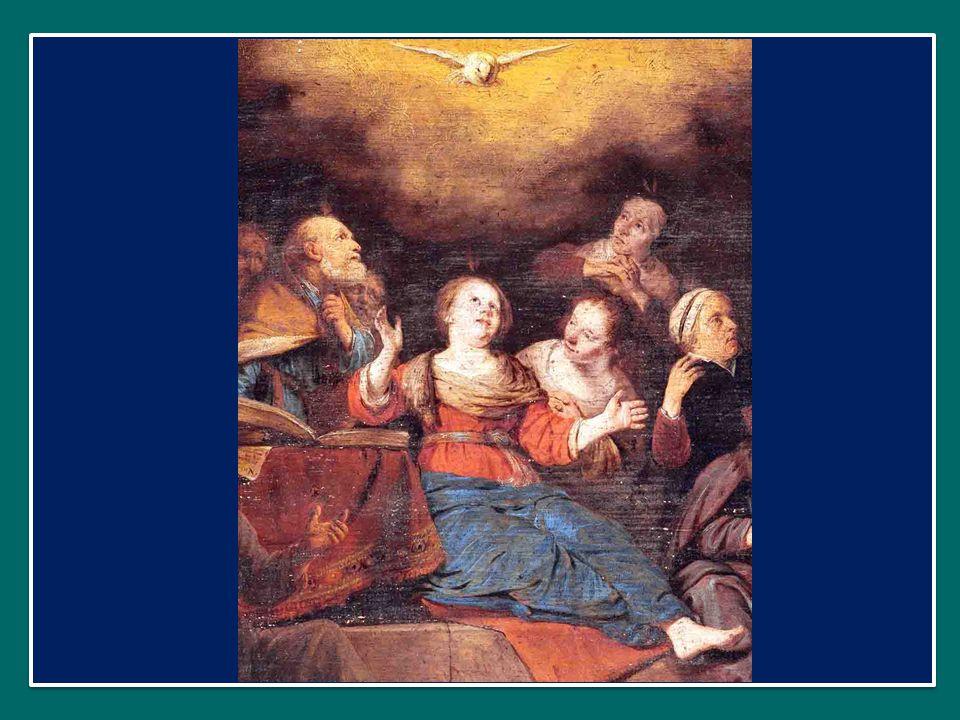 Qui díceris Paráclitus, altíssimi donum Dei, O dolce consolatore, dono del Padre altissimo, fons vivus, ignis, cáritas, et spiritális únctio.