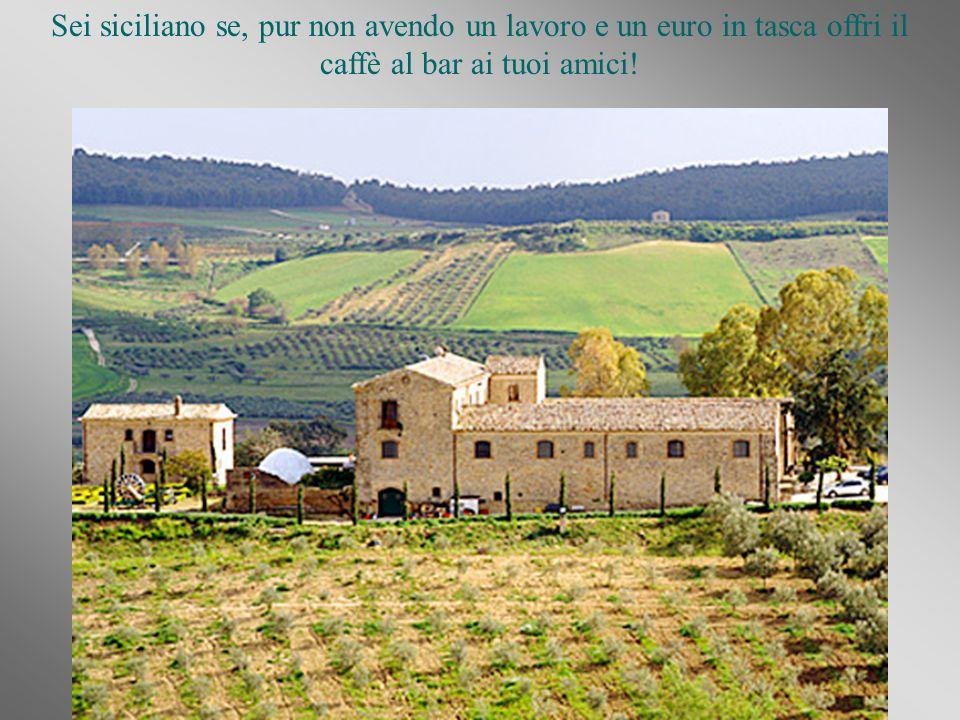 Si potrebbe continuare all infinito, poiché i siciliani siamo i migliori in Italia, con mille sfaccettature e modi di fare conosciuti nel Mondo!!!!!