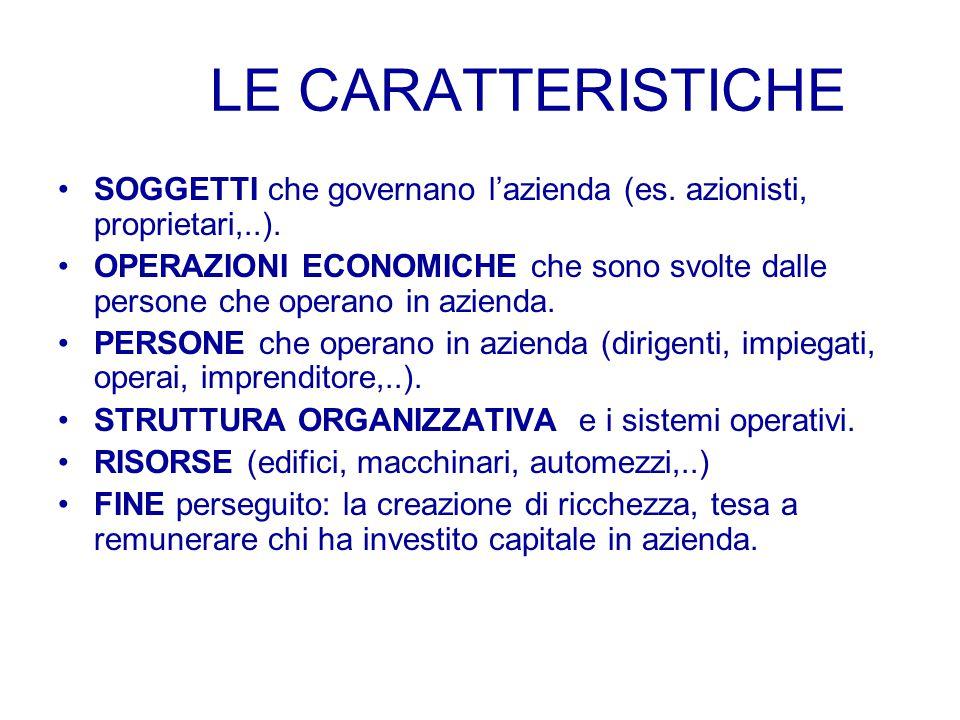 ATTIVITA' ECONOMICA L'attività economica consiste nelle operazioni di produzione e di consumo di beni economici quali la merce e i servizi, utili per